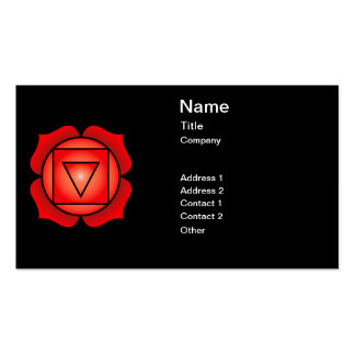 The Root Chakra Pack Of Standard Business Cards