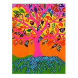 The Root Of Knowledge Tree Of Life Postcard