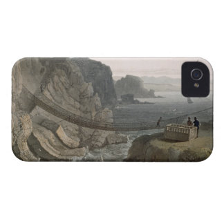 The Rope Bridge near the Lighthouse, Holyhead, fro iPhone 4 Case-Mate Cases