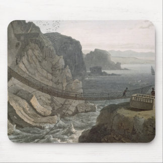 The Rope Bridge near the Lighthouse, Holyhead, fro Mouse Mat