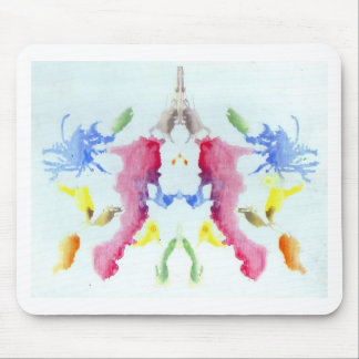 The Rorschach Test Ink Blots Plate 10 Crab Lobster Mouse Pad