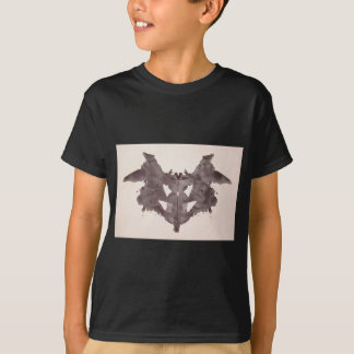 The Rorschach Test Ink Blots Plate 1 Bat, Moth T-Shirt