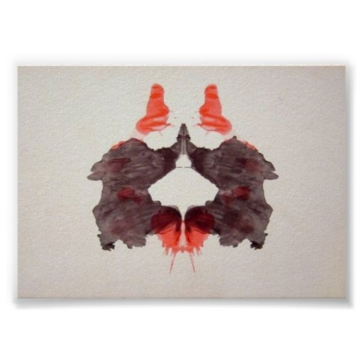 The Rorschach Test Ink Blots Plate 2 Posters