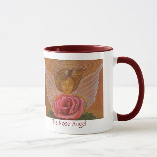 The Rose Angel Mug