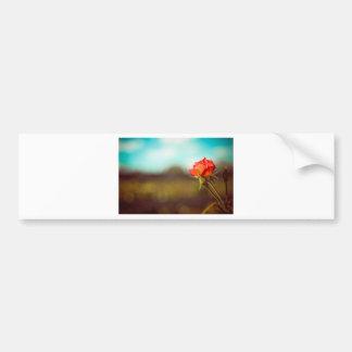 The Rose Car Bumper Sticker