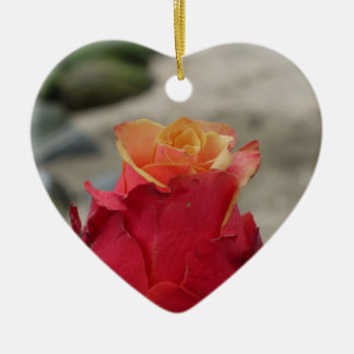 The Rose Christmas Ornament