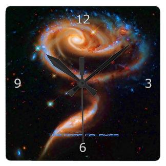 The Rose Galaxies, Arp 273 Clock