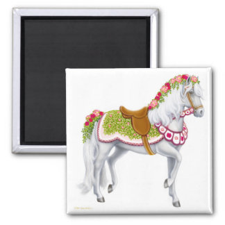 The Rose Horse Magnet