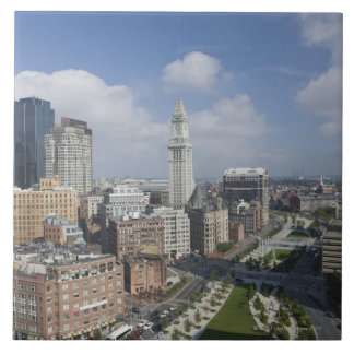 The Rose Kennedy Greenway of Boston, M Large Square Tile
