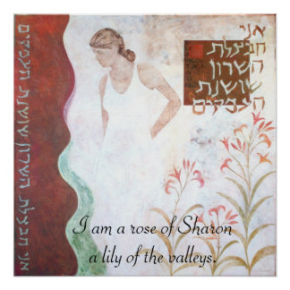The rose of Sharon Poster