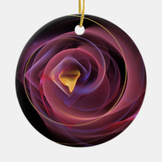 The-Rose-Poster-Available Round Ceramic Decoration