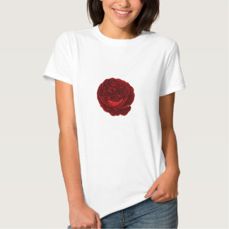 The Rose (white version) T-shirts