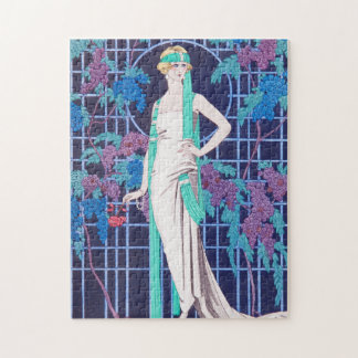 The Roses and the Night Art Deco Puzzles