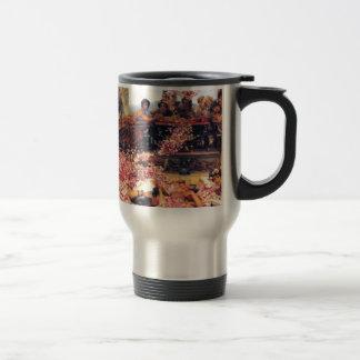 The_Roses_of_Heliogabalus - Lawrence Alma-Tadema.j Stainless Steel Travel Mug