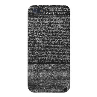 The Rosetta Stone Egyptian Granodiorite Stele iPhone 5/5S Cover