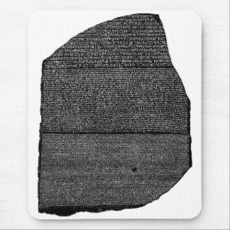 The Rosetta Stone Egyptian Granodiorite Stele Mouse Pad