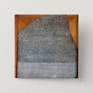 The Rosetta Stone, from Fort St. Julien, 15 Cm Square Badge