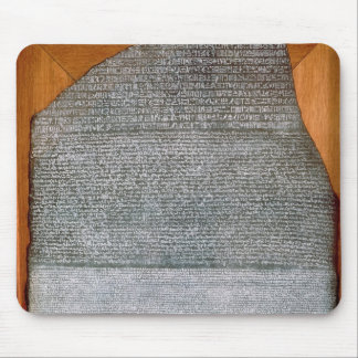 The Rosetta Stone, from Fort St. Julien, Mousepad
