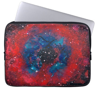 The Rosette Nebula laptop sleeve