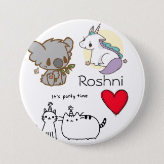 The Roshni Random 7.5 Cm Round Badge