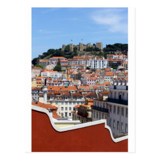 The Rossio and the Hill of the Castle, Lisbon, Por Postcard