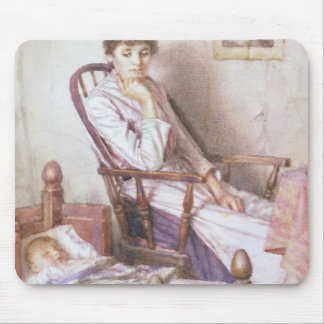 The Rosy Idol of her Solitude Mouse Mat