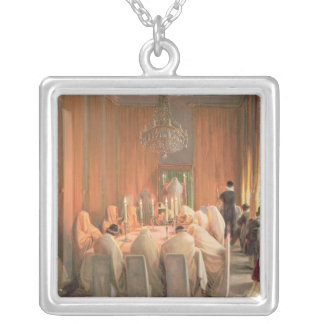 The Rothschild Family at Prayer Silver Plated Necklace
