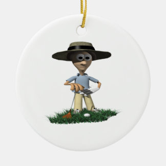 The Rough Gets Rough Christmas Ornament