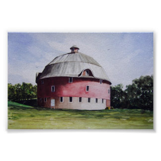 The Round Barn-poster Poster