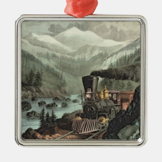 The Route to California Christmas Ornament