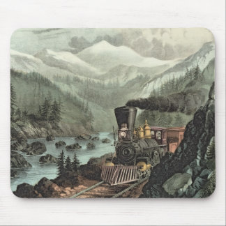 The Route to California Mouse Mat