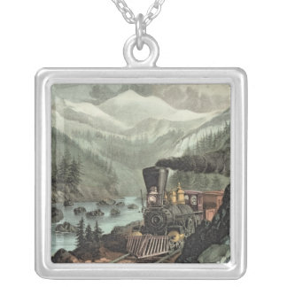 The Route to California Silver Plated Necklace