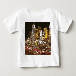 The Route to Sin City Vegas Baby T-Shirt