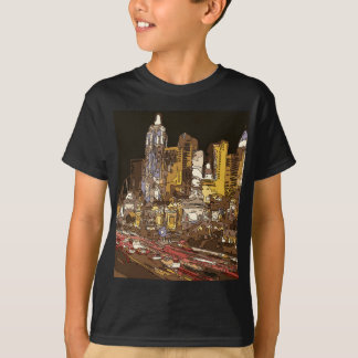 The Route to Sin City Vegas T-Shirt