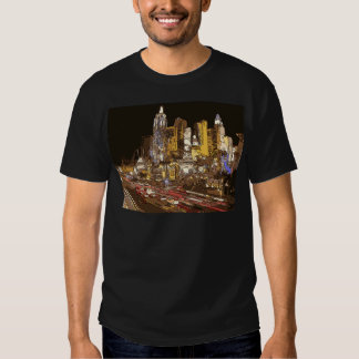 The Route to Sin City Vegas Tshirts