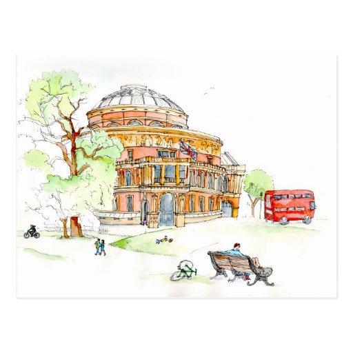 The Royal Albert Hall, London Post Cards