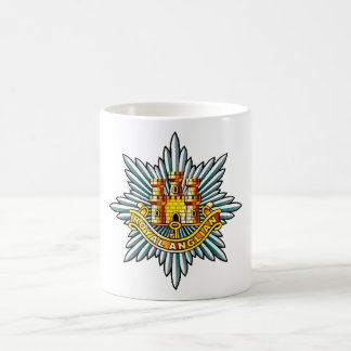 The Royal Anglian Regiment Basic White Mug