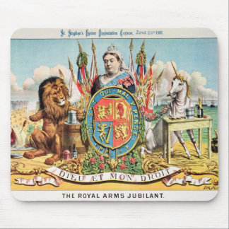 The Royal Arms Jubilant Mouse Mat