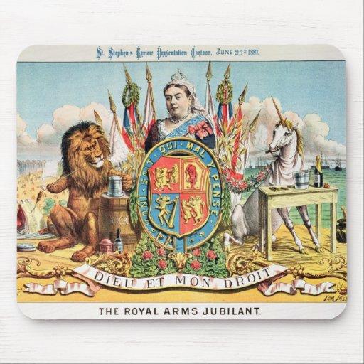 The Royal Arms Jubilant Mousepad