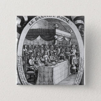 The Royal Banquet 15 Cm Square Badge