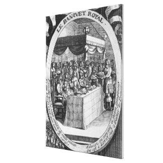 The Royal Banquet Canvas Print