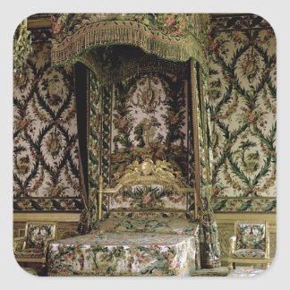 The Royal Bed, probably 18th century (photo) Square Sticker