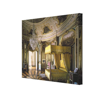 The Royal Bedroom in the Hall of Don Quixote Stretched Canvas Print