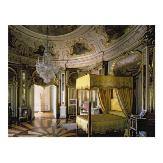 The Royal Bedroom in the Hall of Don Quixote Postcard