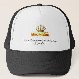 The Royal Boutique brand head wear. Trucker Hat