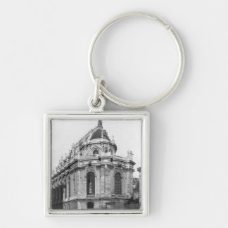 The Royal Chapel, Chateau de Versailles Silver-Colored Square Key Ring