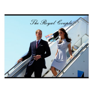 The Royal Couple Prince William and Kate MIddleton Postcard