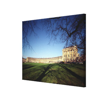 The Royal Crescent, 1767-75 Canvas Print