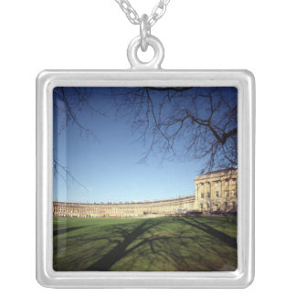 The Royal Crescent, 1767-75 Silver Plated Necklace