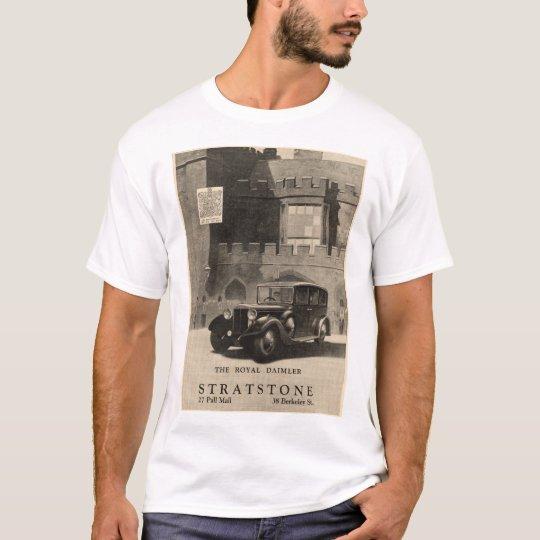 The Royal Daimler vintage car advert from 1935